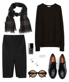175 by szum on Polyvore featuring polyvore fashion style Organic by John Patrick Apiece Apart Brixton Mr. Start House of Harlow 1960 Chanel clothing