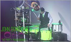 John Donovan The Party Percussionist is an acclaimed live Manhattan wedding and mitzvah artist, musician and entertainer with DJS and bands