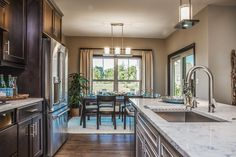 The finishing touches on a kitchen can make a difference.