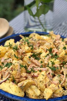 Home Recipes, Roasted Chicken, Barbecue, Potato Salad, Crockpot, Side Dishes, Food And Drink, Potatoes, Baking