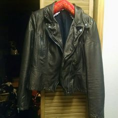 Free people vegan leather jacket Free people vegan leather jacket. Metallic bronze color. Size 6. Worn maybe twice. Perfect condition Free People Jackets & Coats