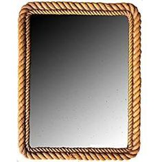 Best Rope Mirrors and Nautical Wall Decor! Discover the top-rated nautical themed rope wall decorations and rope themed mirrors. Nautical Bathroom Mirrors, Nautical Mirror, Nautical Wall Decor, Beach Wall Decor, Nautical Theme, Nautical Rope, Nautical Style, Round Mirror With Rope, Rope Mirror