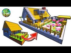 Minecraft: How To Remodel A Village Butcher s Shop YouTube Minecraft blueprints Minecraft Minecraft projects