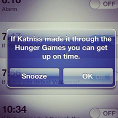 "I need this to say ""If Katniss could survive the Hunger Games twice then you can get off your butt and elliptical for 30 minutes while you watch TV"" lol"