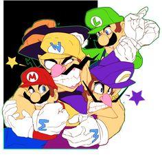 Super Mario Brothers, Super Mario Bros, Mario And Luigi, Budgies, Anime, Deviantart, Sunset, Fictional Characters, Videogames