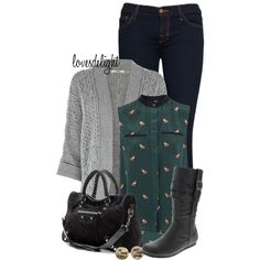 Payless Boots, created by lovesdelight on Polyvore