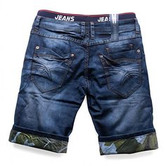 Hombres pantalones cortos extienden VIRGINIA Nr.1513, Farben:Blue;Größe-Shorts:W28 Boys Cargo Shorts, Baby Jeans, Denim Trends, Denim Outfit, Colored Jeans, Denim Fashion, Swagg, Jeans Style, Little Boy Fashion