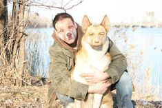 A man and his dog: | The 35 Most Disturbing Face Swaps Of All Time