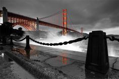 great shot of the Golden Gate Bridge by Bryan Jolly Photography   Clash