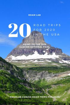 Celebrate 2020 with our 20 top road trips across America. See bison, hit a classic roadside diner, discover odd art sites, and drive on a beach. Badlands National Park, Grand Teton National Park, Rocky Mountain National Park, Yellowstone National Park, National Parks, Mustang Island, Road Trip Across America, Surfside Beach, Travel Log