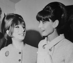 Barbra Streisand and Audrey Hepburn