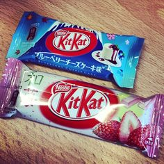 Every-flavour Kit Kats. Collect them all!