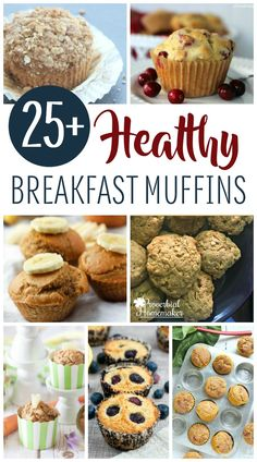 Get the morning started right for you and your kids! You'll love these great recipes for tasty and healthy breakfast muffins!  via @TaunaM