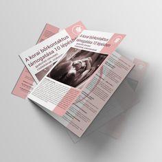 Szórólap design - Születéshez Polaroid Film, Design
