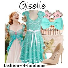 """Giselle"" by fofandoms on Polyvore"