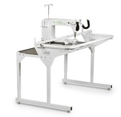 hq simply sixteen 16 inch longarm quilting machine