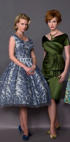 Mad Men style ~ Housewife vs. Career Woman