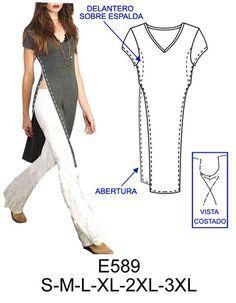 Spanish sewing pattern website.                                                                                                                                                     Más