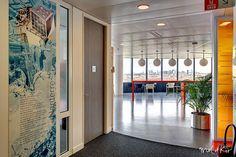 #signalétique de bureaux entreprise étage direction générale siège social Bouygues Telecom by Mel et Kio