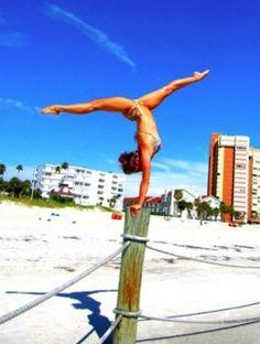 Gymnast..