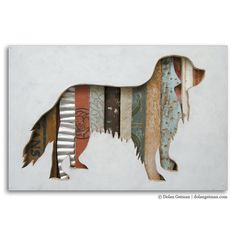 Cavalier King Charles Spaniel Pet Dog Art, Dog Walk (Mini) Collection, Made to Order