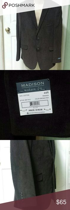 Men's blazer Brand new, with tags. 1 Madison Suits & Blazers Sport Coats & Blazers