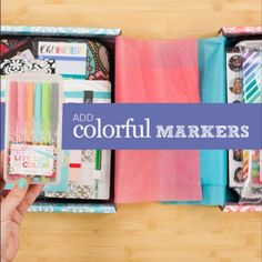 New Colorful Markers! I'm so excited for these and the lovely case they are in!  Erin Condren planners will be available for pre-order June 9th! Use my referral code and get $10 off for new customers https://www.erincondren.com/referral/invite/kayleneklingert0525 #ECLifePlanner #ECadventure #erincondren #erincondrenlifeplanners #erincondrenlifeplanner @erincondren