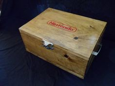 Game storage case....what a cool idea