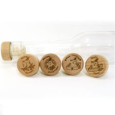 You don't have to be a crazy cat lady to appreciate these funny cat-themed Christmas puns laser engraved on high-quality wood and cork wine bottle stoppers. Your set of four will include: Feline Navidad Meowy Christmas Paw Humbug Sandy ...