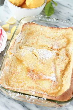 "Hungry for an easy and delicious oven-baked pancake that's more like a crepe with a crispy buttery top and puffy golden brown sides? This Americanized version of a German recipe called ""Apfelpfannkuchen"" takes only 5 minutes to prepare before popping in the oven for an AMAZING breakfast! The recipe uses ingredients you may already have …"