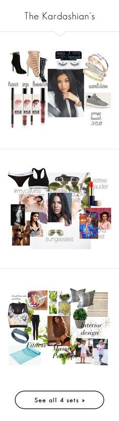 """The Kardashian's"" by fleurdeparis07 on Polyvore featuring Cartier, adidas, Ardell, Kendall + Kylie, Victoria's Secret, Calvin Klein, ASOS, Estée Lauder, Ted Baker and Elle Sport"