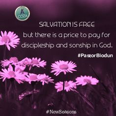 #CommunionService with #PastorBiodun - Follow Me And You Will Be Made #October #2014 #NewSeasons