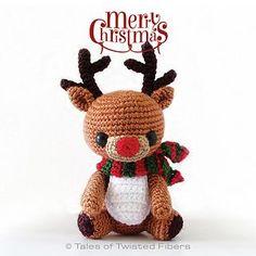 Rudyn the reindeer. Cute!! - by Serah Basnet - free pattern