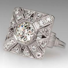 1920's Art Deco Diamond Ring