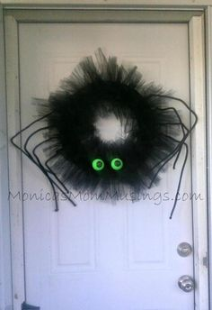 How To Make Louie The Spider Wreath