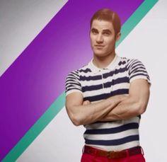 Blaine Anderson in the Glee Season 5 DVD