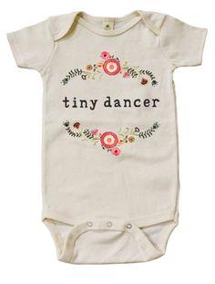 'Tiny Dancer' Onesie | Mini & Meep on Etsy