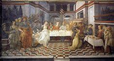 Filippo Lippi | Convito di Erode | 1452-65 | affresco | Duomo, Prato |