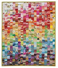 Scrap Republic: 8 Quilt Projects for Those Who love Color by Emily Cier