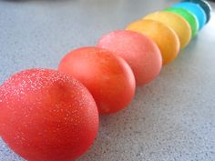 Tutorial: Coloured eggs