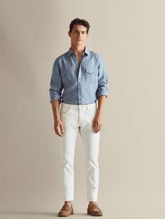 Casual Attire, Men Casual, Shirt Sale, Street Style, Fashion Essentials, Refashion, Sims 4, Everyday Fashion, Men's Style
