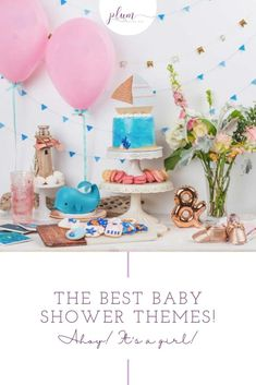 Are you planning the perfect baby shower? The first step is picking a theme for the special event. Find loads of ideas and inspiration by browsing through these baby shower themes.