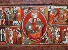 Anònim Frontal d'altar de Santa Margarida de Vilaseca  Tallers de Vic Últim quart del segle XII