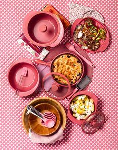Oxford Porcelanas - Conjunto de Panelas Linea Rosé