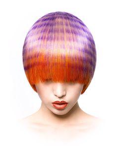 Hair by Teruyoshi Kato and color by Makoto Iwaya, Toni&Guy Japan Creative Hairstyles, Cool Hairstyles, Beautiful Hair Color, Hair Shows, Crazy Hair, Love Hair, Hair Art, Hair Today, Ombre Hair