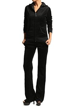 Zenana Womens Velour Suit Set * To view further for this item, visit the image link. (This is an affiliate link)