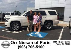 https://flic.kr/p/K3p8T8 | Congratulations Geri on your #Chevrolet #Tahoe from Nick Jones at Orr Nissan of Paris! | deliverymaxx.com/DealerReviews.aspx?DealerCode=J476