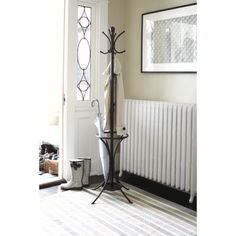 Threshold™ Metal Coat Rack with Umbrella Stand- mudroom.  Paint it a fun color.