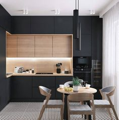 U-shaped Kitchen İdeas; The Most Efficient Design Examples Of Your Dream Kitchen 2019 - Page 29 of 29 - eeasyknitting. com - - U-shaped Kitchen İdeas; The Most Efficient Design Examples Of Your Dream Kitchen 2019 - Page 29 of 29 - eeasyknitting. Kitchen Room Design, Kitchen Sets, Home Decor Kitchen, Interior Design Kitchen, Kitchen Furniture, New Kitchen, Kitchen Dining, Kitchen Cabinets, Kitchen Modern
