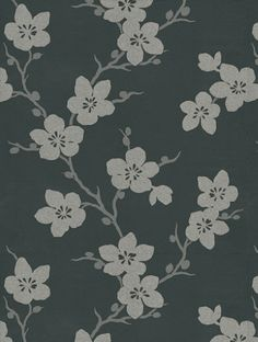 Yoshino, a feature wallpaper from Villa Nova, featured in the Chervil collection.